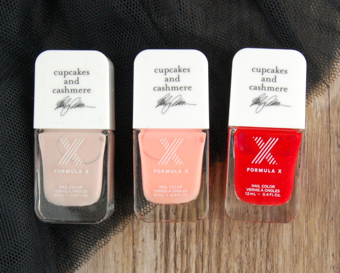Sephora Formula X #ColorCurators Nail Polish: Cupcakes & Cashmere Edition for March review