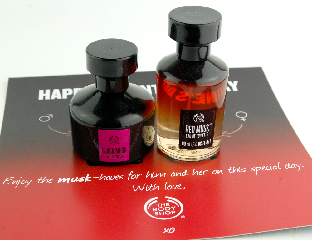 The Body Shop Valentines Day Black Musk Red Musk fragrance perfume giveaway 2