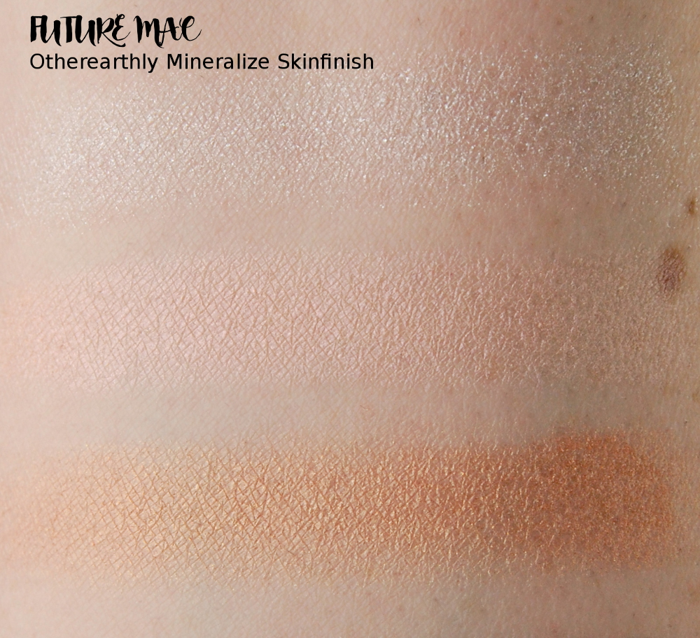 Future MAC Otherearthly Mineralize Skinfinish swatch