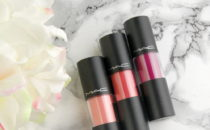 MAC Cosmetics Versicolour Lip Stains in Energy Shot, Tattoo My Heart and Preserving Passion
