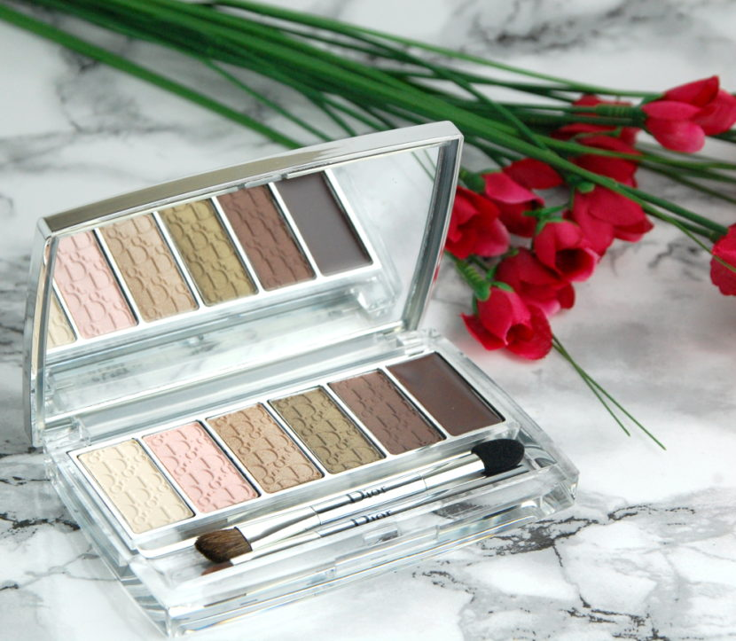 Dior Eye Reviver Backstage Pros Illuminating Neutrals Eye Palette review