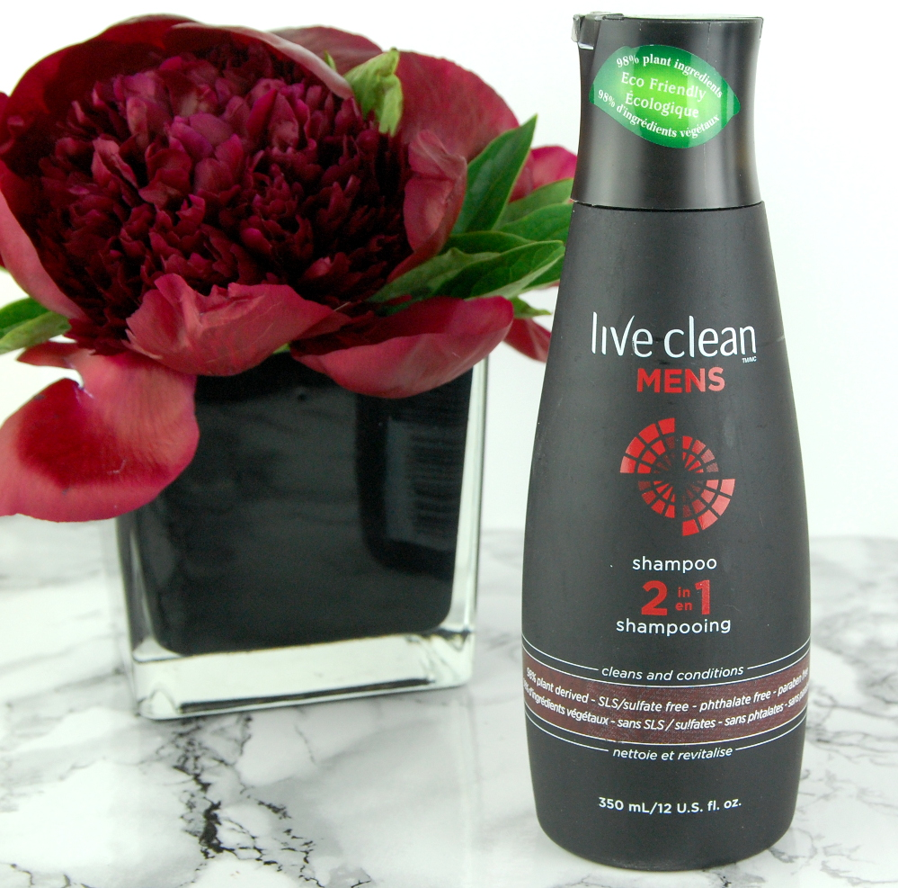 Live Clean Mens 2 in 1 Shampoo review