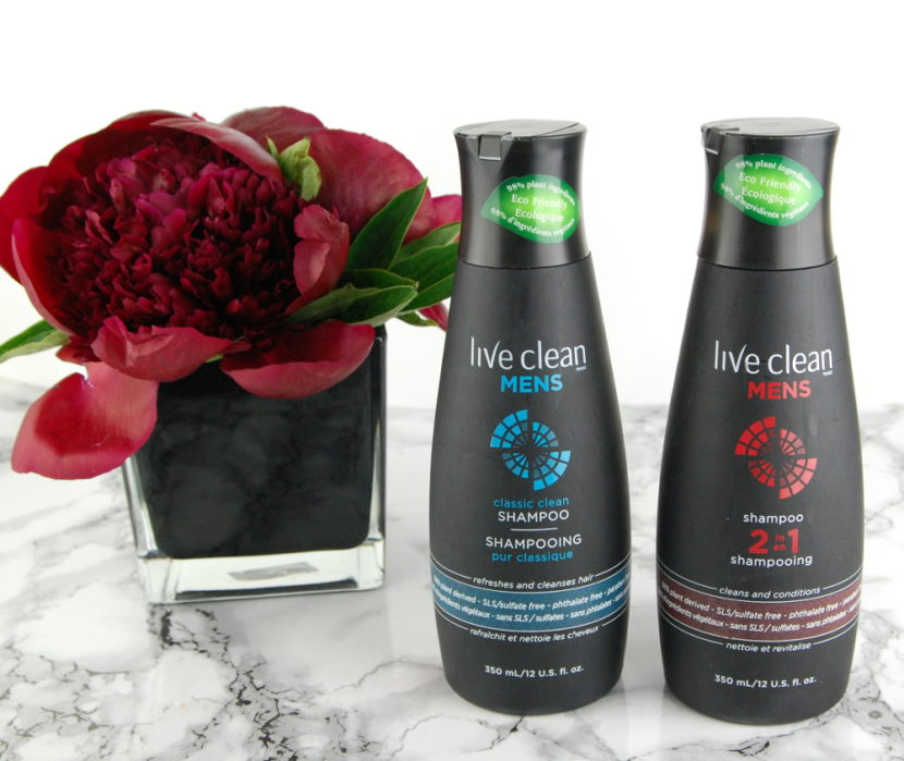 Live Clean Mens Shampoo review