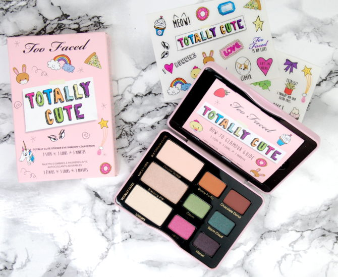 Too Faced Totally Cute eyeshadow palette review