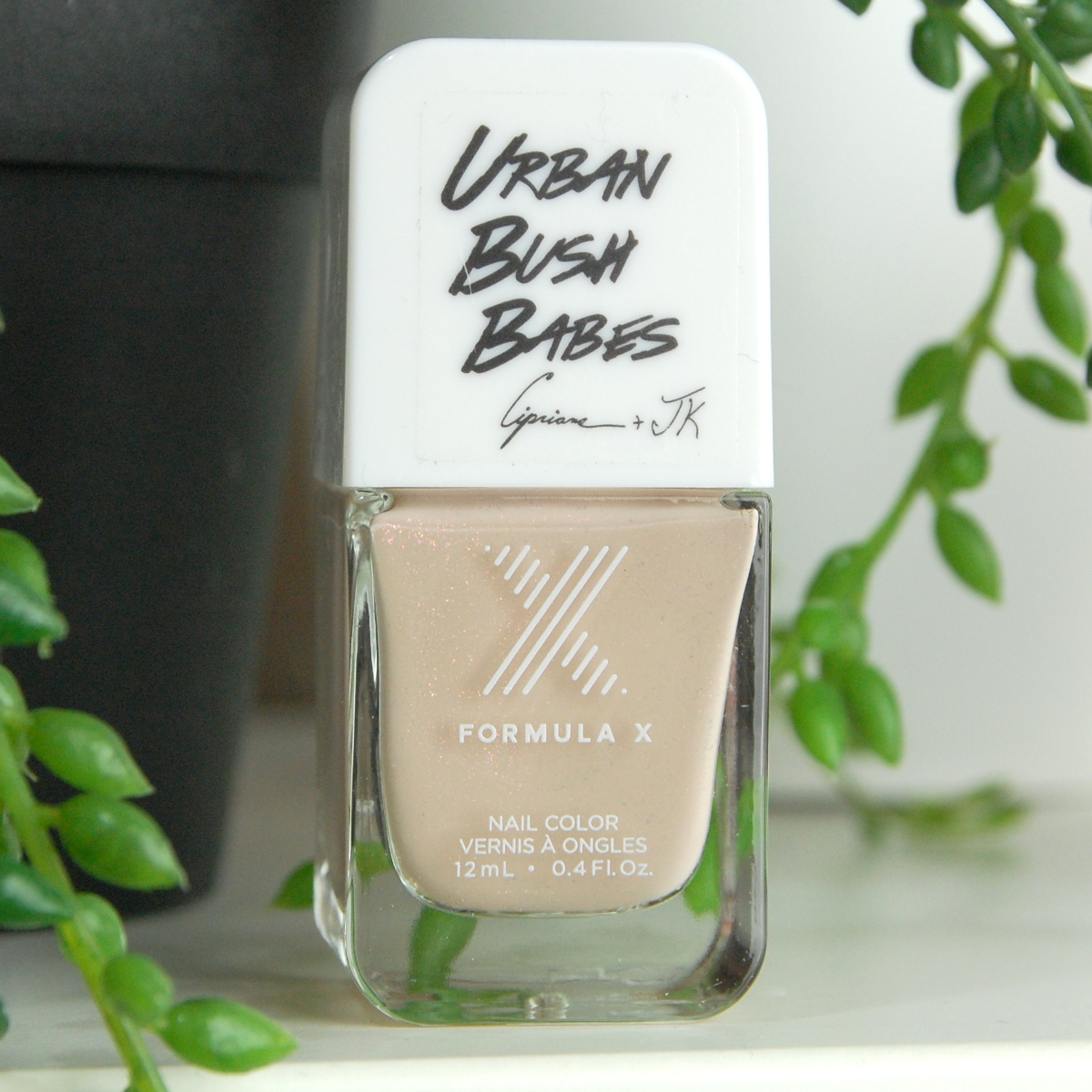 Sephora Formula X #ColorCurators Nail Polish Urban Bush Babes Edition July 2016 review Beige from our Book