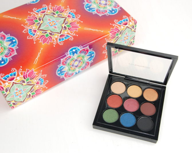 MAC Cosmetics Diwali Light Festival Eyeshadow x 9 palette review