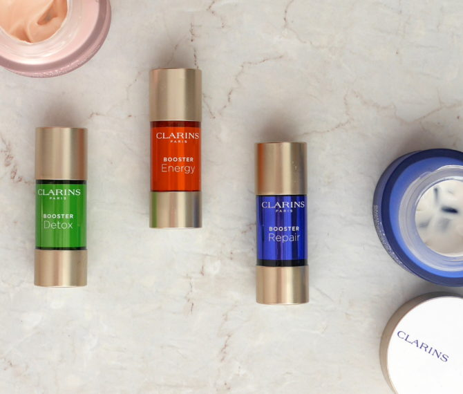 Clarins Skin Boosters: Energy, Repair, Detox review