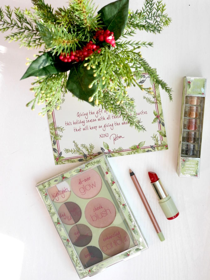 HOLIDAY LOOK: Pixi Beauty Palette Rosette, Fairy Dust Favorites, Mattelustre Lipstick