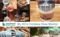My One of a Kind Show Toronto 2016 Christmas Wishlist #OOAKx16
