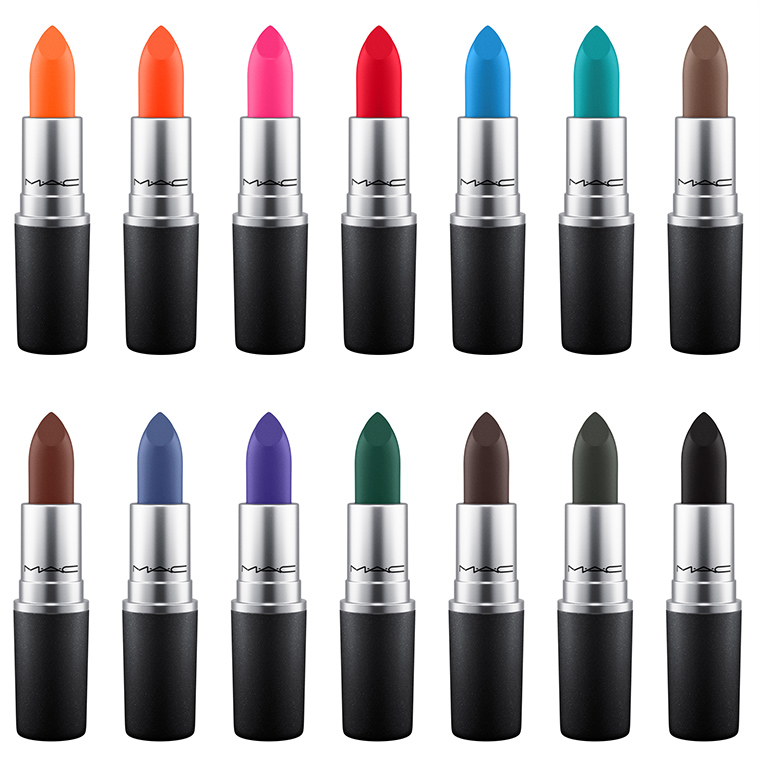MAC Cosmetics ColourRocker lipstick collection spring 2017 1