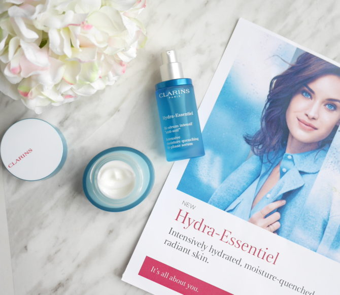 Clarins Hydra-Essentiel is the new Hydraquench!