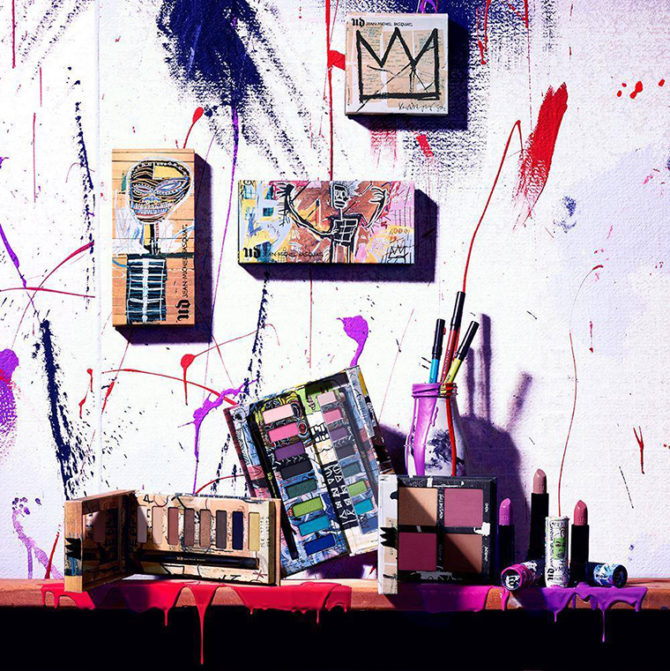 Urban Decay x Jean-Michel Basquiat April 2017 collection info