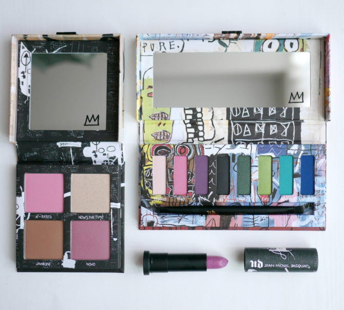 Urban Decay x Jean-Michel Basquiat collection review