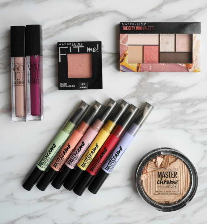 New from Maybelline: Master Camo Correcting Pen, Master Chrome Highlight and more!