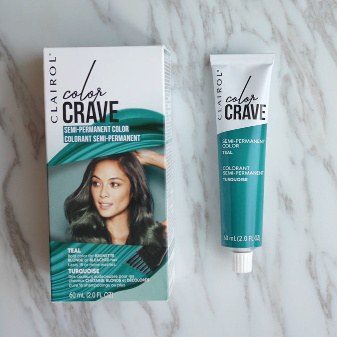 Clairol Color Crave Semi-Permanent Hair Color in Teal