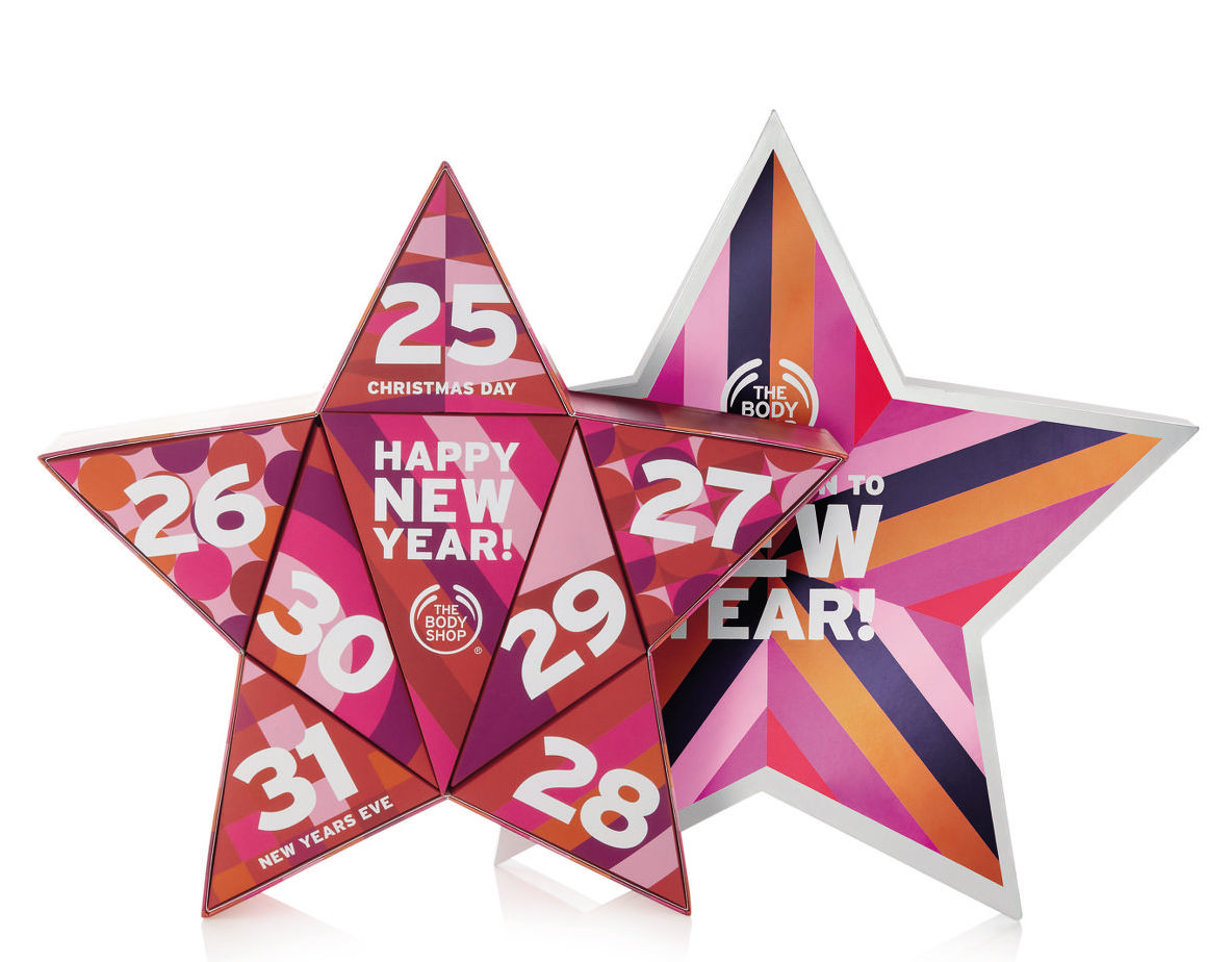The Body Shop Holiday 2017 Advent Calendar Countdown to New Year