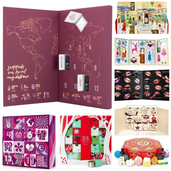 SPOILER ALERT: 2017 Holiday Advent Calendar round-up!