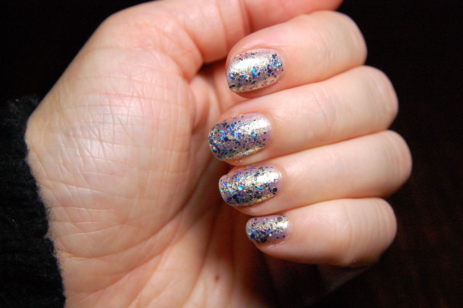Essie Encrusted Treasures holiday nail polish in On a Silver Platter ...