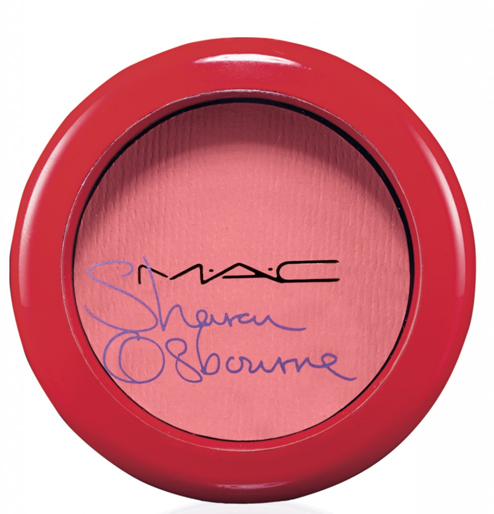 MAC Cosmetics x Sharon Osbourne Summer 2014 Peaches and Cream blush