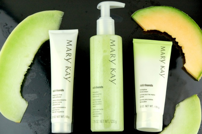 Mary Kay Honeydew Satin Hands Pampering Set review