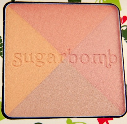 Benefit Cosmetics Cheeky Sweet Spot Box O Blushes Palette review Sugarbomb blush
