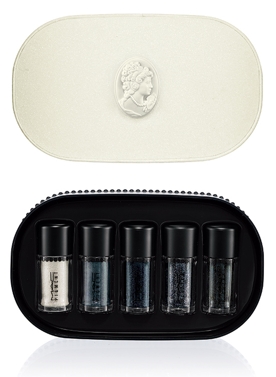 MAC Cosmetics Objects of Affection Holiday 2014 collection Silver Blue pigment glitter set