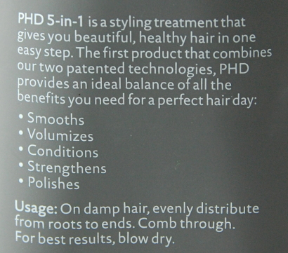 Living Proof Perfect Hair Day instructions
