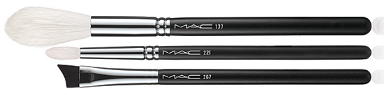 MAC is Beauty Spring 2015 collection brushes
