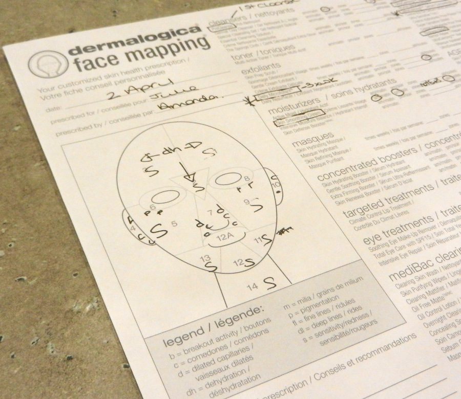 I GOT FACE MAPPED! (My trip to Dermalogica in Toronto) – Swatch and Dermalogica Skin Mapping on