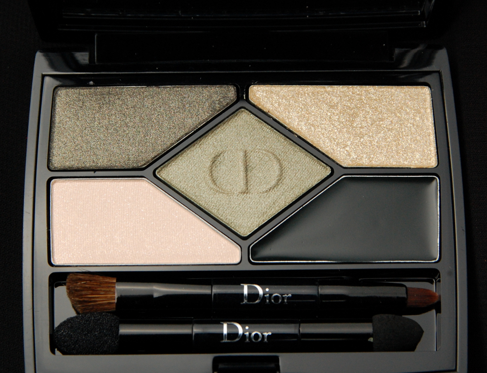 dior 5 couleurs designer eye palette in 308 khaki design review swatch and review. Black Bedroom Furniture Sets. Home Design Ideas