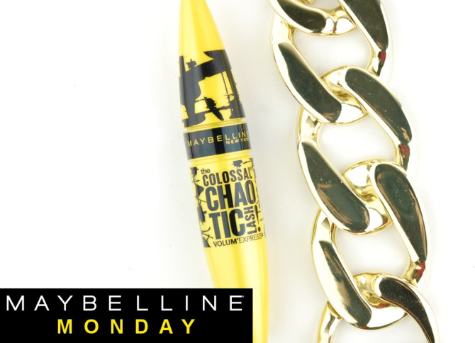 Maybelline the Colossal Chaotic Lash mascara review