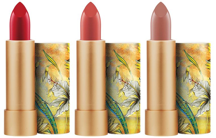 MAC Cosmetics Guo Pei 2015 Holiday collection Brave Red Zenith Ethereal Orchid Lipstick