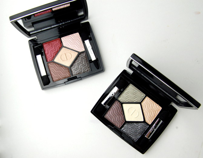Dior 5 Couleurs State of Gold Eyeshadow Palettes in 576 Eternal Gold, 886 Blazing Gold review