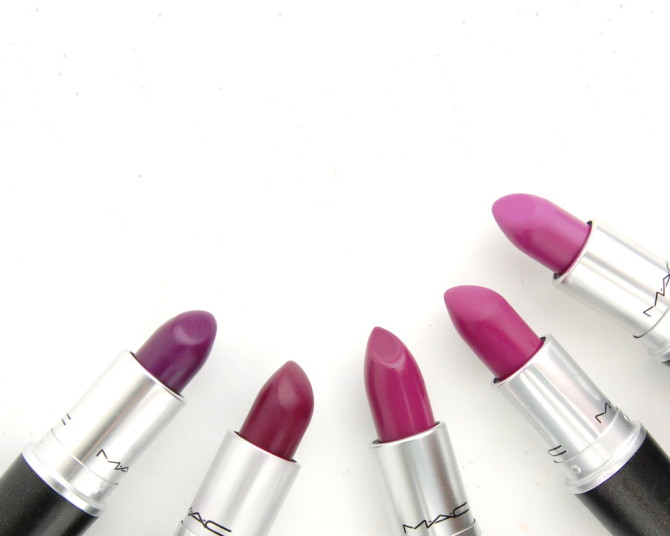 MAC Cosmetics Evening Rendezvous matte lipstick: a review and a study in purple!