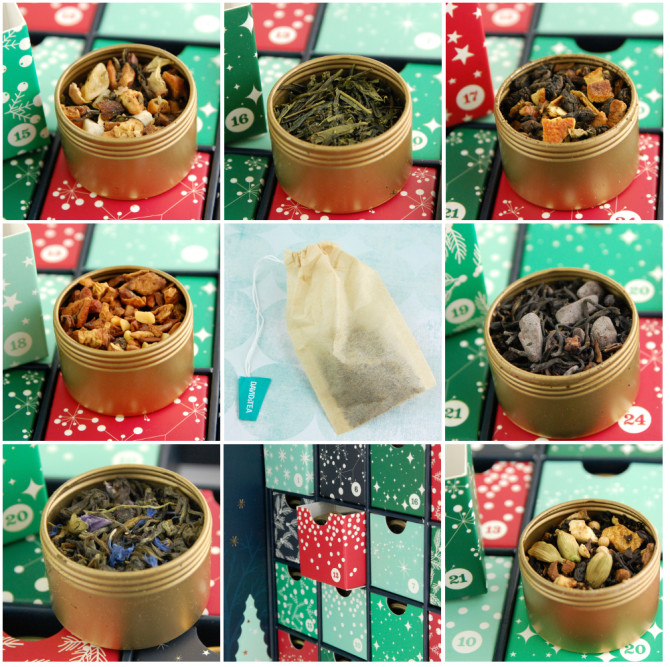 DAVIDsTEA 24 Days of Tea advent calendar – WEEK 3