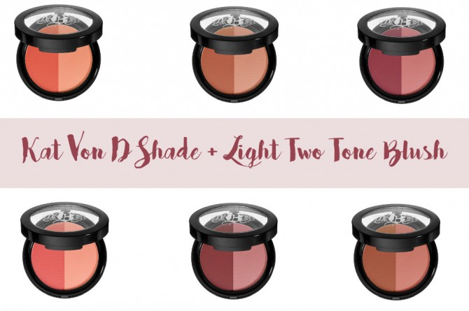 Kat Von D Shade + Light Two Tone Blush info
