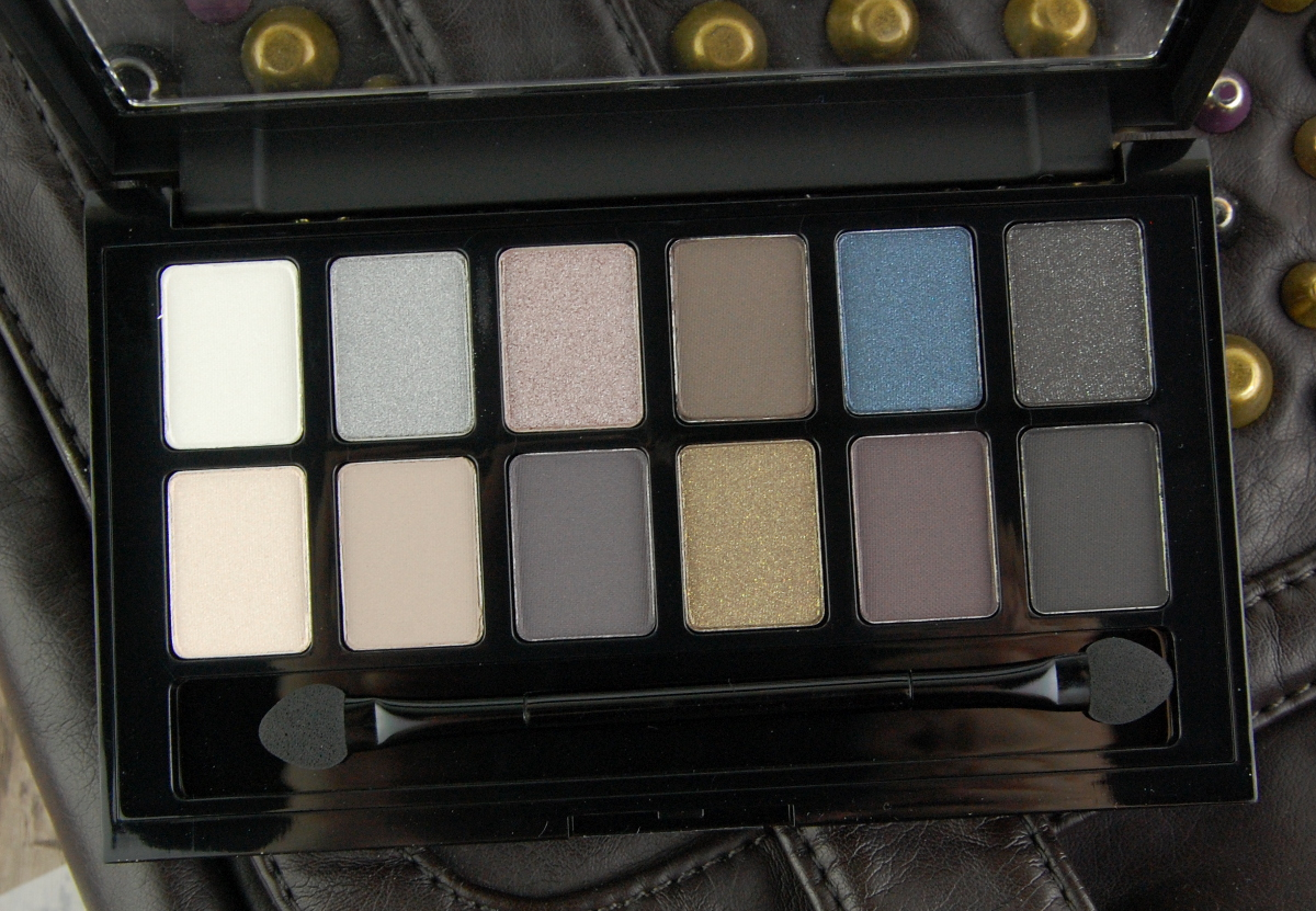 Maybelline Rock Nudes eyeshadow palette review 3
