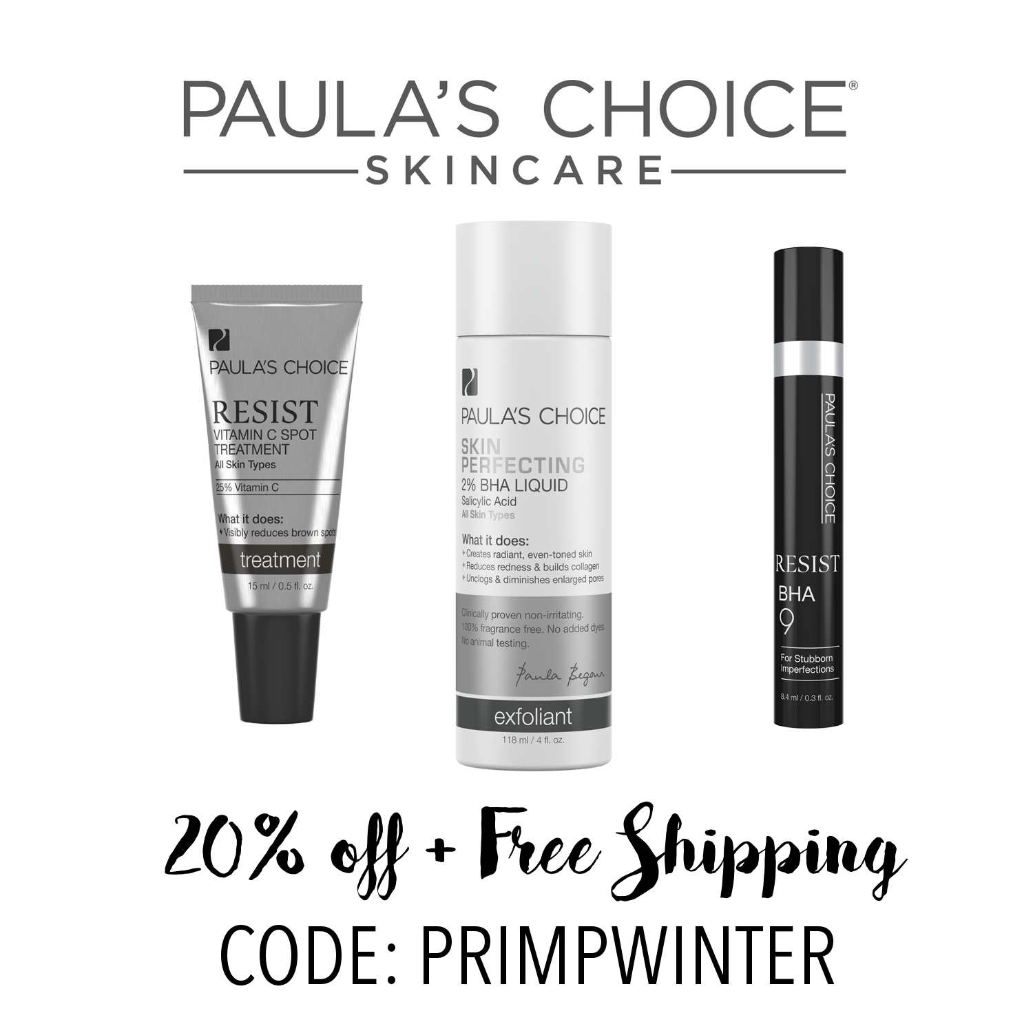 Paulas choice coupon codes