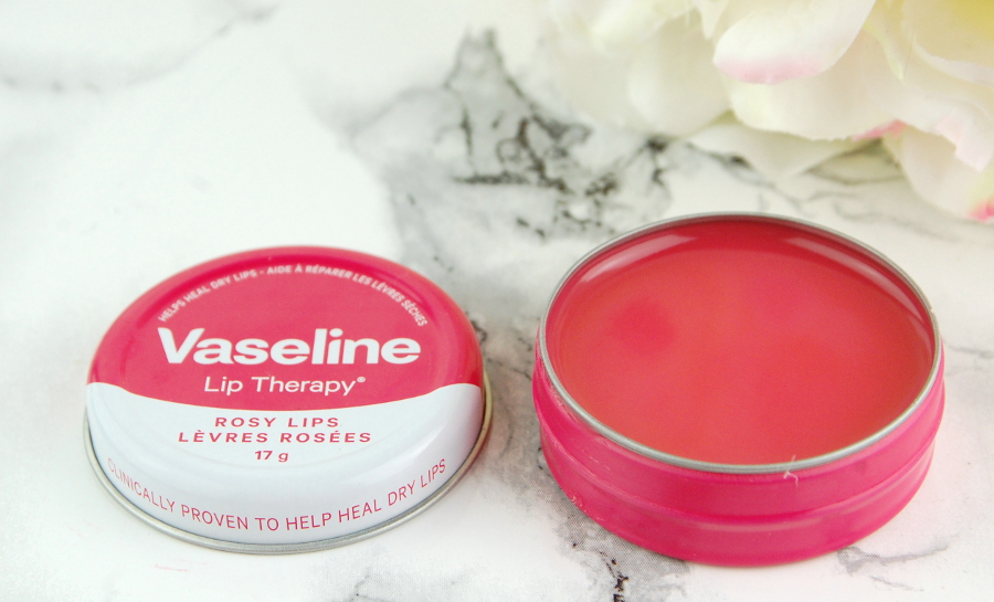 Vaseline Lip Therapy® Original formula is clinically proven to heal dry, chapped lips and comes in a unscented, non-greasy, & non-sticky steel tin.