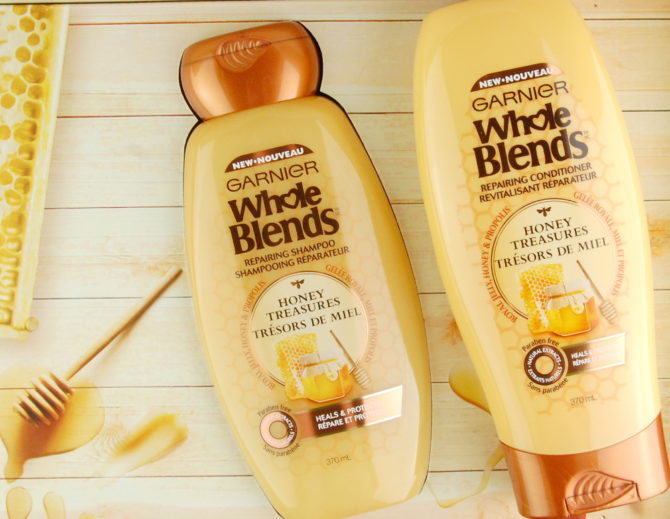 Garnier Whole Blends Honey Treasures Repairing Shampoo & Conditioner review