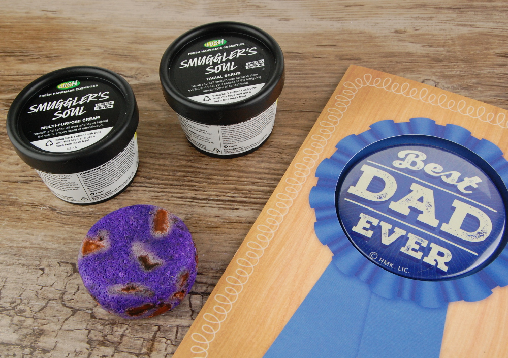 LUSH Fathers Day 2016 Smugglers Soul Facial Scrub Cream Shampoo bar review 2
