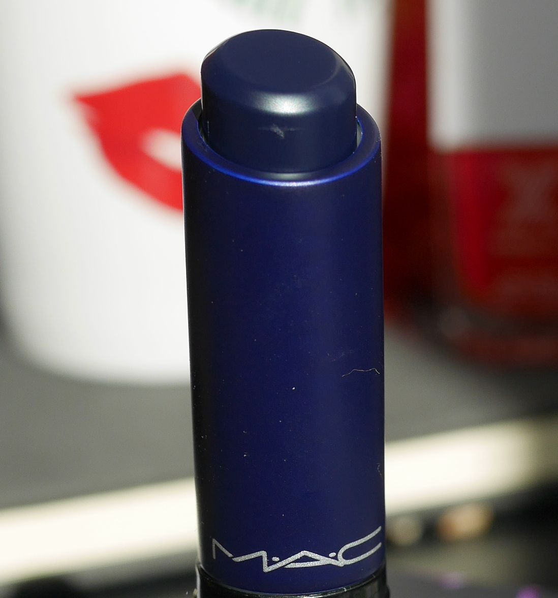 MAC Cosmetics Liptensity lipstick Blue Beat Doe review