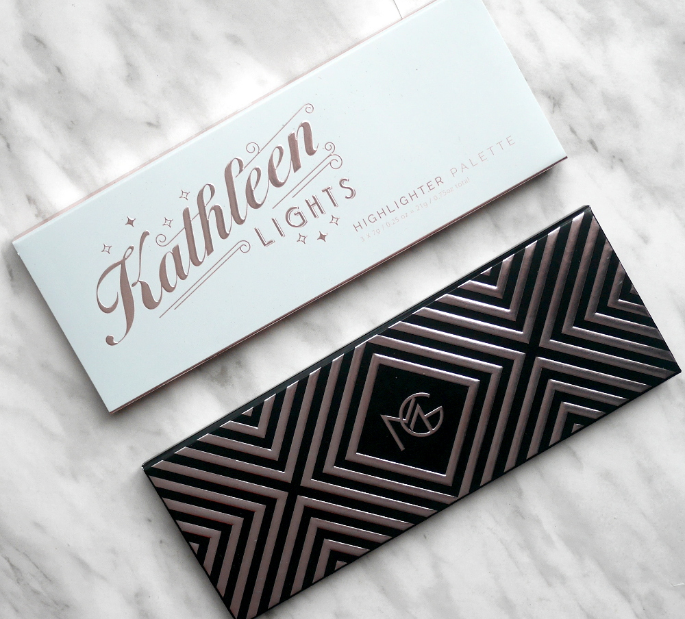 Makeup Geek Kathleen Lights Highlighter Palette review