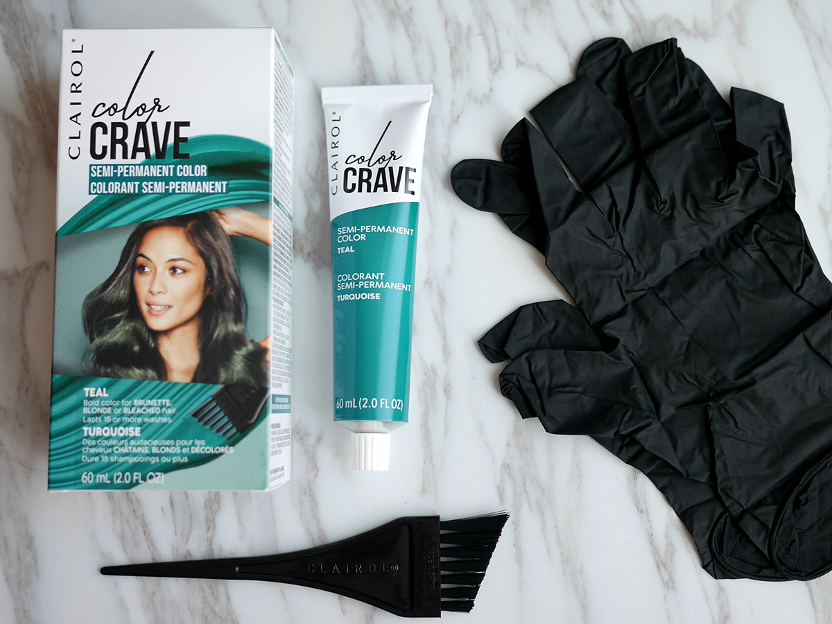 Clairol Color Crave Teal Hair Dye Colour Review