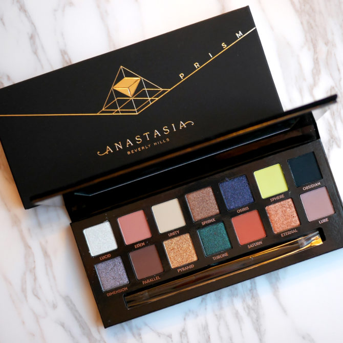 Anastasia Beverly Hills Prism Eye Shadow Palette review