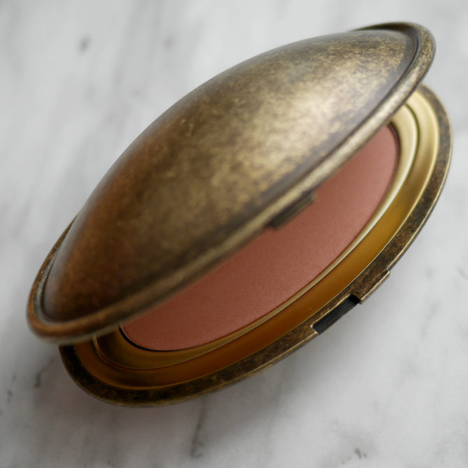 MAC Cosmetics x Robert Lee Morris blush in Linda review