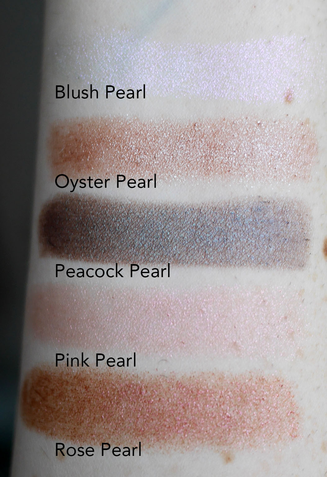 Bite Beauty Prismatic Pearl Multistick Blush Rose Peacock Oyster Pink swatches
